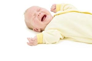 Schreibaby - Neugeborenes schreit