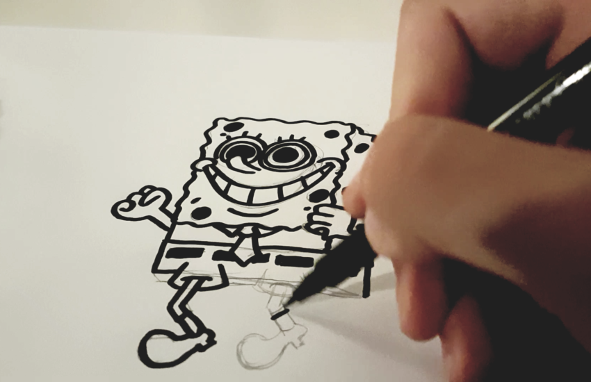 Cartoons für Kinder zeichnen