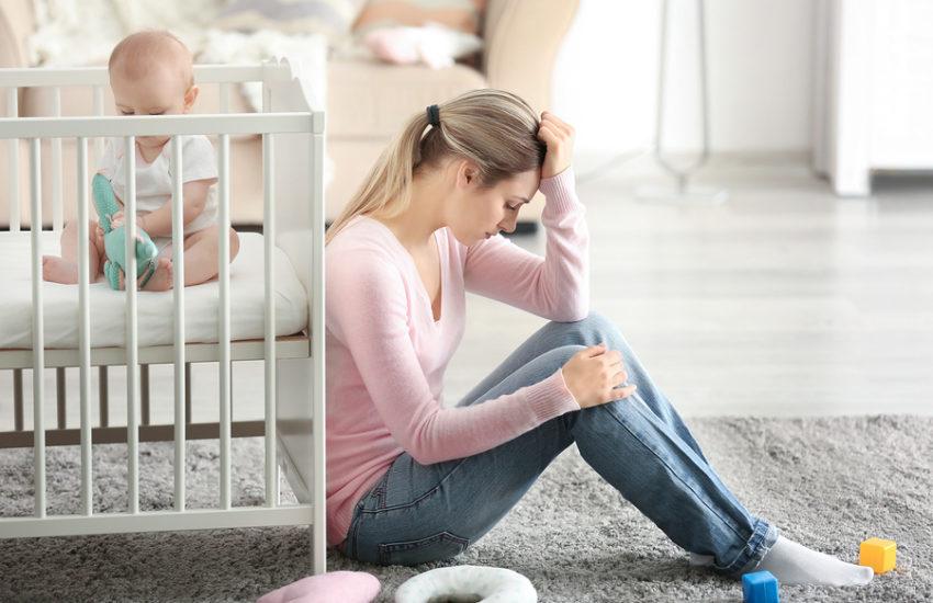 Wochenbettdepression nach der Geburt