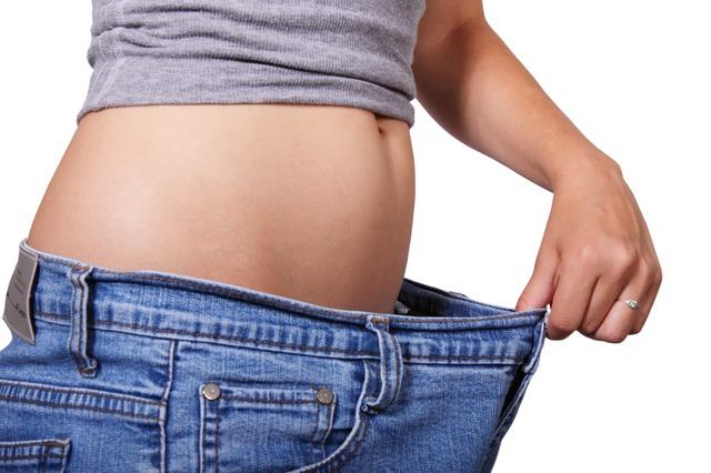 Abnehmen und Bauch weg